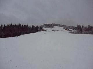 Алёначка на лыжах )