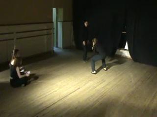 Экзамен Сцен.движение 3 курс. Иркутское театральное училище. ФТК