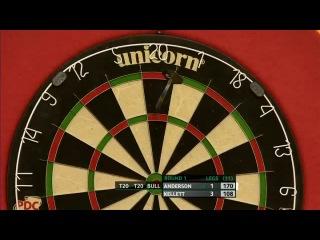 Gary Anderson vs Stuart Kellett (Players Championship Finals 2013 / Round 1)
