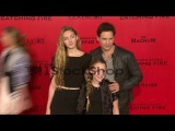 Peter Facinelli, Luca Bella Facinelli at 'The Hunger Game...