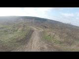 На BMX по 4Х трассе)