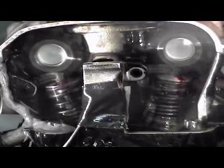 ГРМ мотоцикла при 14000 об в минуту