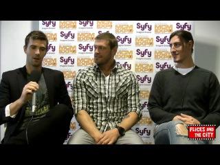 Интервью о 3 сезоне Эрик Бальфур Лукас Брайант и Адам Коуплэнд ENG