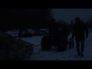 На тракторе вывоз леса