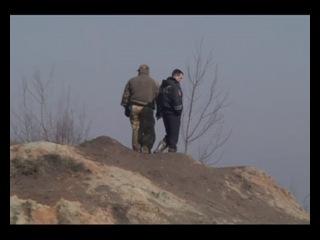 В Калининградской области полиция приступила к разрушению котлованов, вырытых нелегальными добытчиками янтаря