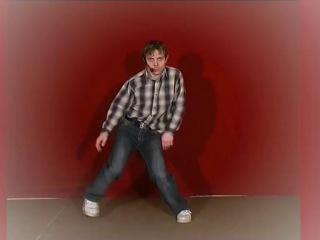 импровизация.Съемки учебного фильма по электрик-буги.Москва. 2006 год