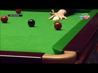 German Masters 2014. 1/2. Дин Джуньху - Райан Дэй. Снукер.