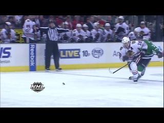 Zemgusa Girgensona vārtu guvums NHL nedēļas TOP-10