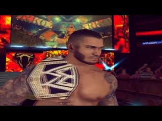 WWE Caws John Cena vs Randy Orton(c) Royal Rumble 2014 promo