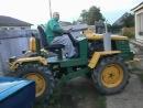 Самодельный трактор, внешний вид мини т-150