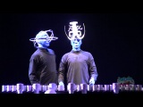 Blue Man Group does Lady Gaga