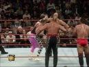Hart Foundation (Bret Hart, Brian Pillman, Owen Hart, Jim Neidhart, British Bulldog) vs. Team WWF (Steve Austin, Ken Shamrock, H