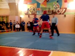 Кунгур, кик-лайт, 63 кг, полуфинал, 1 раунд, 08.12.2013