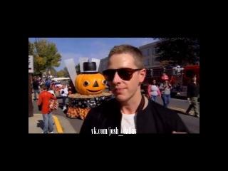 Интервью Джоша Далласа на параде 6 октября 2012