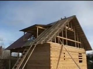 Строительство деревянного дома из бруса. Часть 2