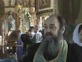 Отец Василий (Новиков) - Соборование, 2007. Пламенная проповедь