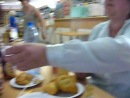 "Трапеза в кафе Пскова ""Лакомка"", лето 2011 года"