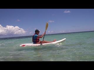 Карибское море. (На каяке)