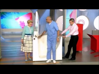 Ванна с дверью Sameca в программе Жить Здорово с Еленой Малышевой