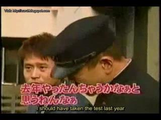 Gaki no Tsukai #556 (08.04.2001) — Matsumoto Failed College Test (ENG subbed by Zurui)
