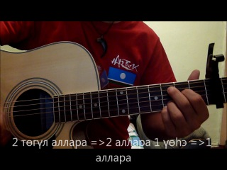 Замир - Дьылҕам сибэккитэ (Видеоурок)