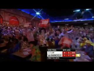 Phil Taylor - Raymond van Barneveld (PDC World Darts Championship 2013 / Semi final)