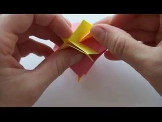 Подробный урок по модульному оригами «Рождественская звезда».http://vk.com/publicistorii