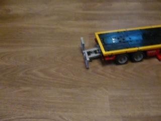 лего грузовик с платформой 8109