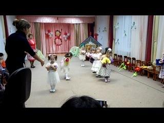 Теремок, танец с куклами