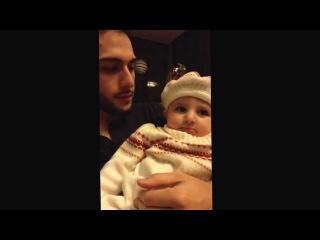 Бит бокс дяди и племянницы 1 год)