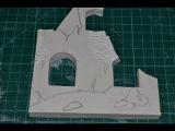 Как сделать стену дома для диорамы