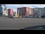 Крупная Авария в Сипайлово. г.Уфа  13.10.2012