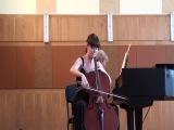 А.Дворжак концерт для виолончели с оркестром си минор 2-я часть исп. Мороз Анна 3 курс Днепропетровской консерватории им.глинки