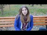Жалкая породия на девку из камеди батл:D