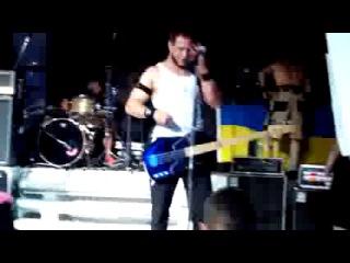 Bloodhound Gang, Odessa, 'Ibiza' 31/07/13. So sorry, Russia - флагом России подтерлись
