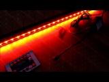 Аквариумная погружная Светодиодная подсветка с распылителем воздуха