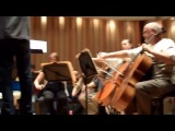 Lost composer Michael Giacchino rehearses with the Lost Live orchestra