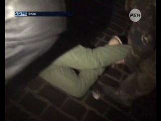 Корреспондент РЕН-ТВ был ранен в прямом эфире. 21.01.14