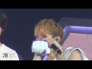 [Fancam] 121208 Super Precious JongKey moments @ SWC2 in Singapore