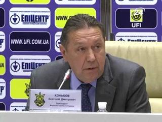 Коньков: Мілевський очолить жіночу збірну з футболу