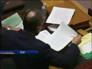 Нападение американки Саманты Пауэр на Виталия Чуркина в ООН