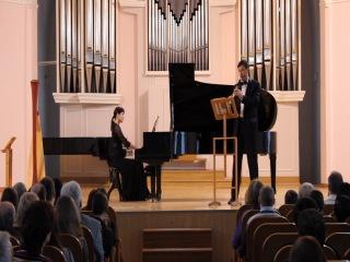 Р. Вагнер Адажио для кларнета и фортепиано