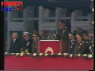 Devlet Başkanı Org. Kenan Evren'in İstanbul Konuşması (4.11.1982)(1)