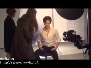 [2013] Шин Хе и Чон Иль У на съемках для Holika Holika