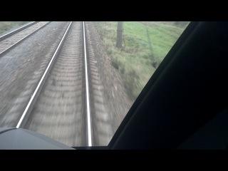 Предельно разрешающая скорость в РБ на железной  дороге