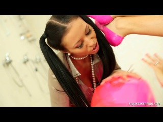 The only way to lesbo shower kitty jane, bailey, nicole vice 2013 г
