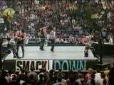 WWF SmackDown! 19.07.2001 - Мировой Рестлинг на канале СТС / Всеволод Кузнецов и Александр Новиков