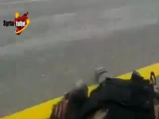 Война в Сирии. Снайпер отстреливает наемников