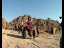 Quad Safari in the desert, Sharm El-Sheikh, Egypt, 2014