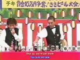 Gaki no Tsukai #524 (2000.08.13) — Kiki 5 (Beer) ENG subbed